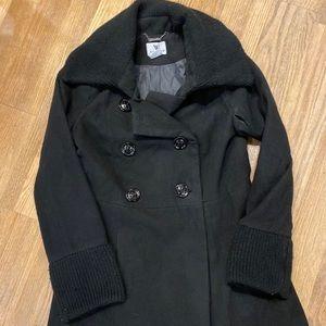 GUC- Black winter pea coat